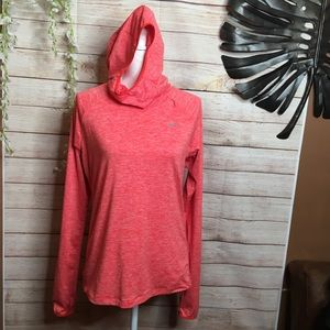 Nike Running coral hoodie size M